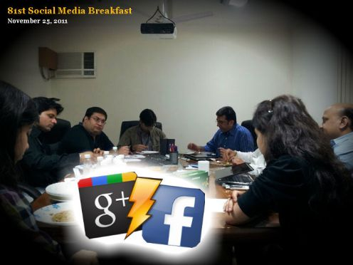 81st Social Media Breakfast: Who wants to Faceboogle?